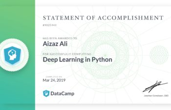 Deep Learning in Python