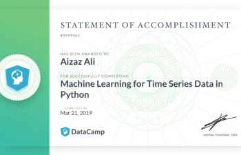 Machine Learning for Time Series Data in Python